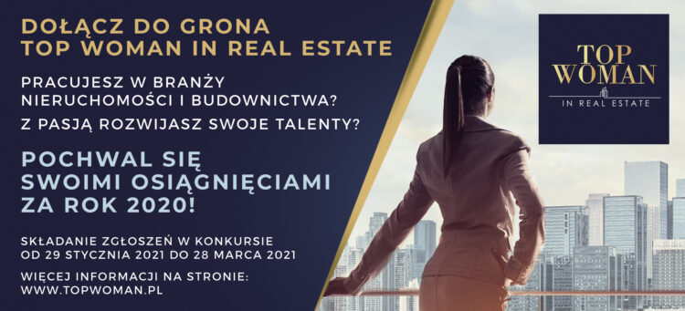 IV edycja konkursu Top Woman in Real Estate